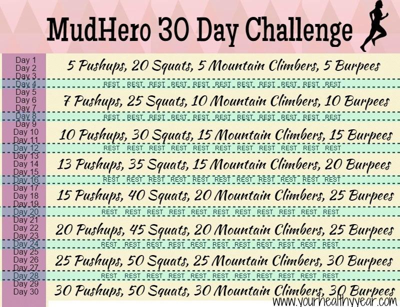 MudHero 30 Day Challenge