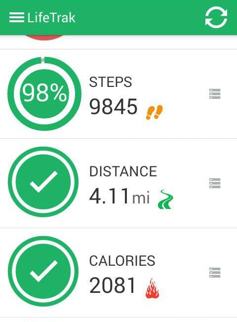 lifetrak app