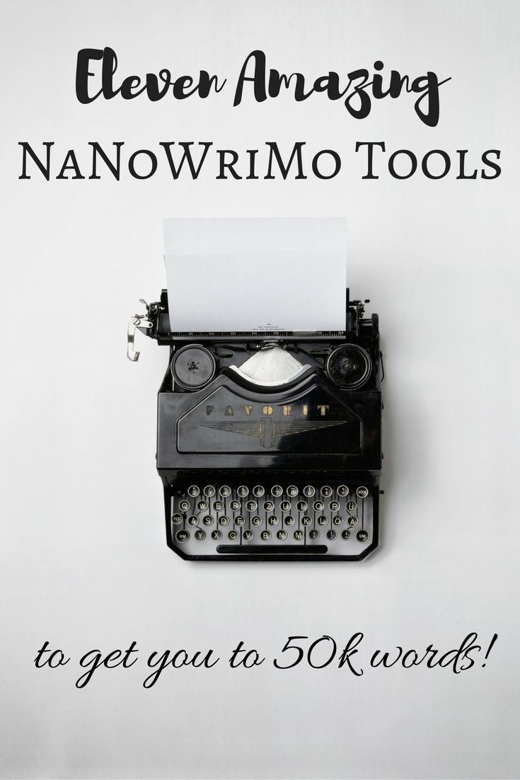 11 Amazing NaNoWriMo Tools