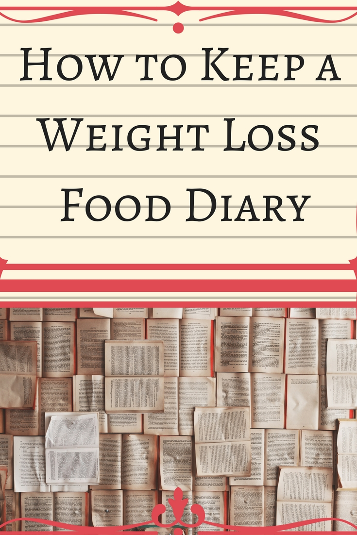How to Keep a Weight Loss Food Diary