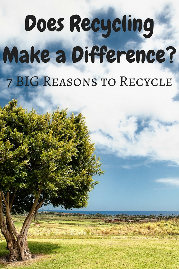 Does Recycling Make a Difference?