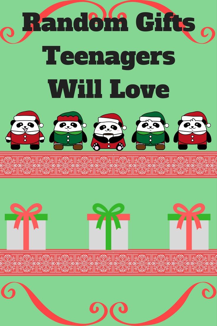 Random Gifts Teenagers Will Love