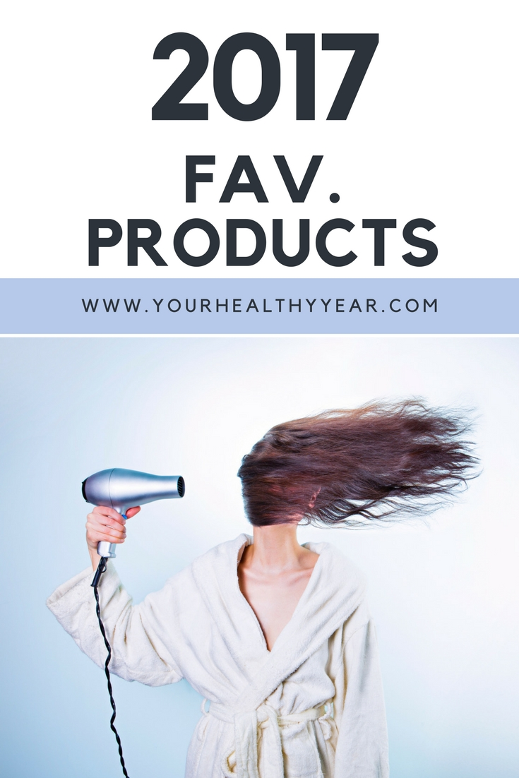 2017 Favorite Products