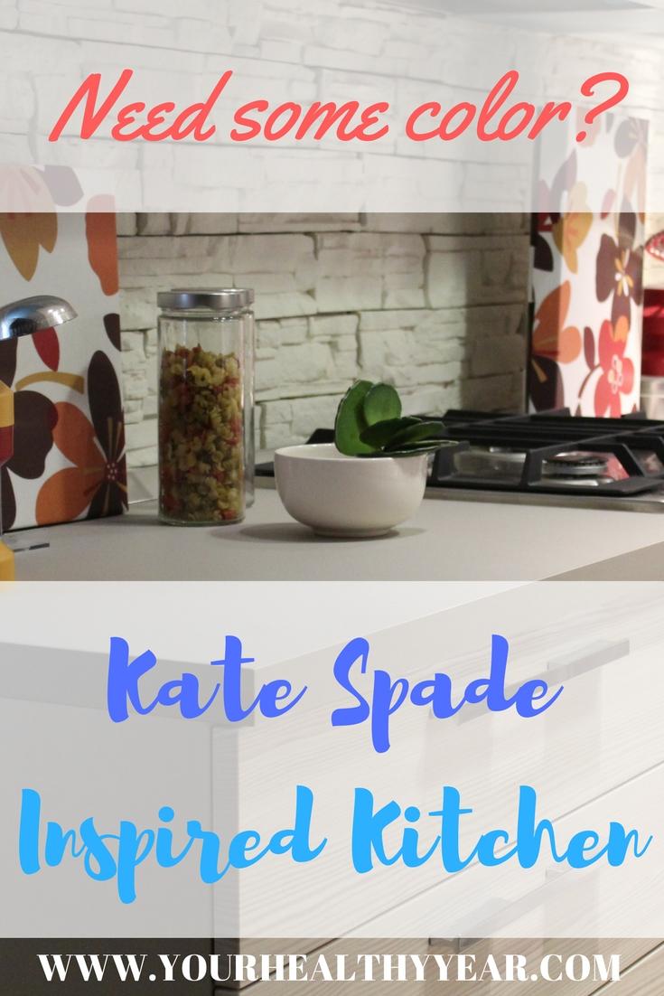 Kate Spade Inspired Kitchen