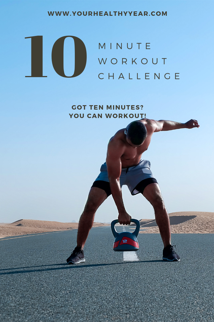 10 minute workout challenge